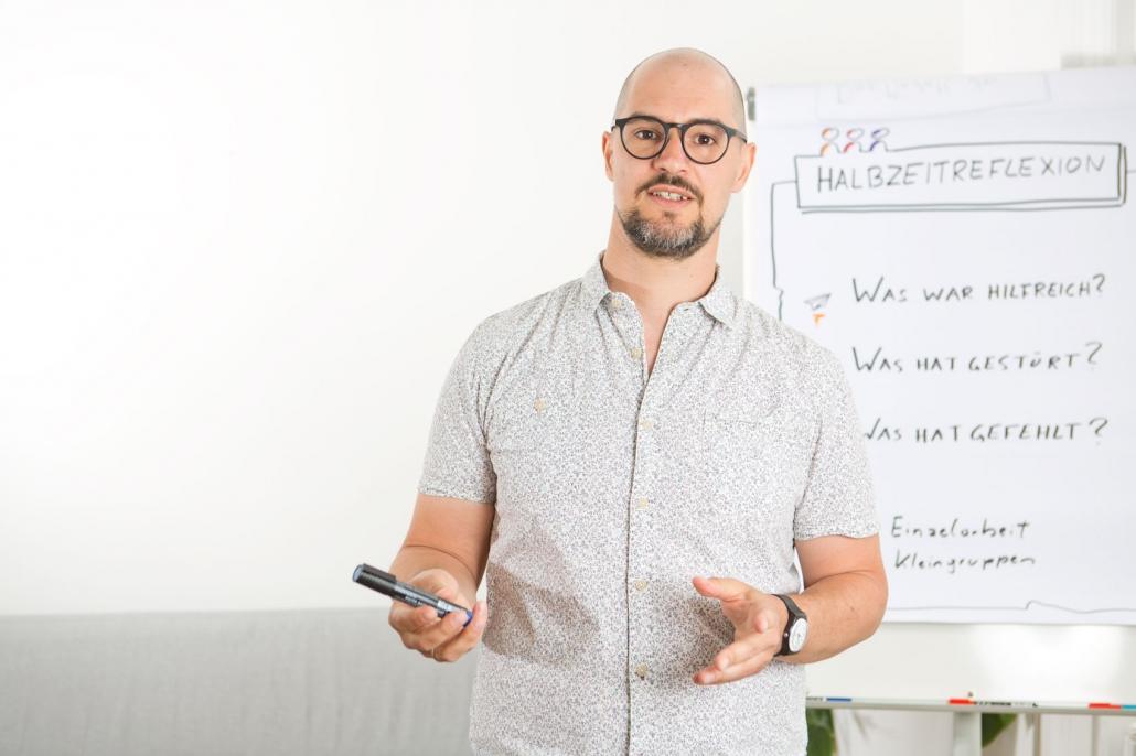 Andreas Reiter moderiert